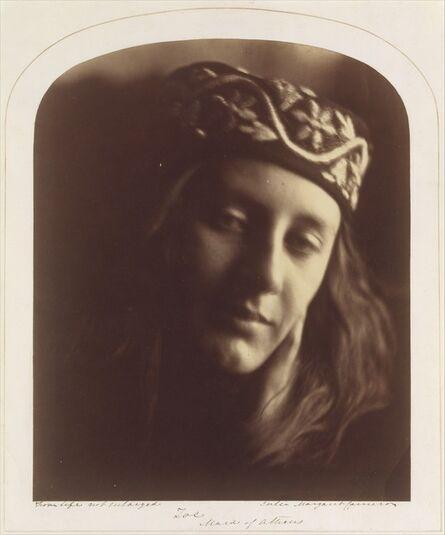 Julia Margaret Cameron, 'Zoe, Maid of Athens', 1866