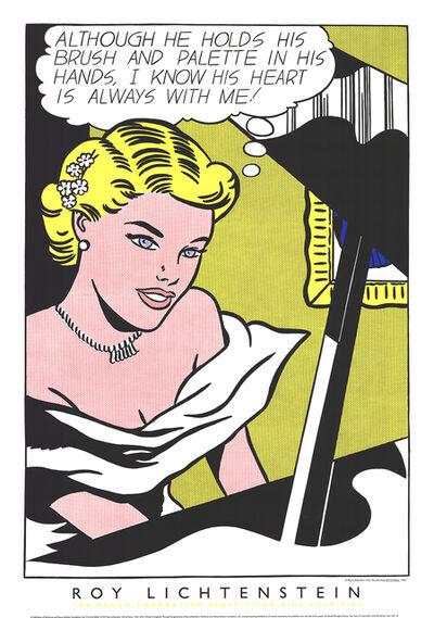 Roy Lichtenstein, 'Girl at the Piano', 1994