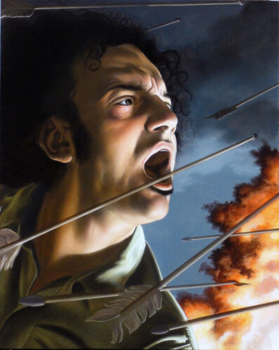 Nicola Verlato, 'UNDER ATTACK III', 2015