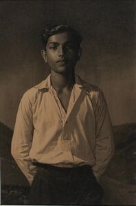 Lionel Wendt, 'Untitled ( Boy in White Shirt and Trouser)', ca. 1935