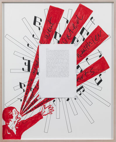 Art & Language, 'Letters to The Red Crayola XIV', 1976-2012