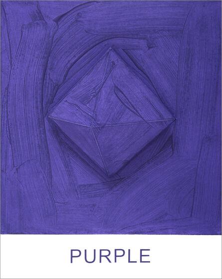 John Baldessari, 'Eight Colorful Inside Jobs: Purple', 2017