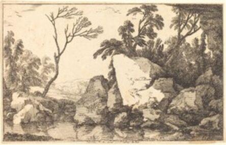 Laurent de La Hyre, 'A Rocky Pond', 1640