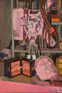 Brian P. Kelley, 'Sleeping Projector (pink)', 2021