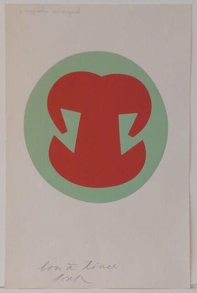 Hans Arp, 'No title', ca. 1966