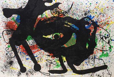 Joan Miró, 'Miró Lithograph Derriere Le Miroir ', 1973