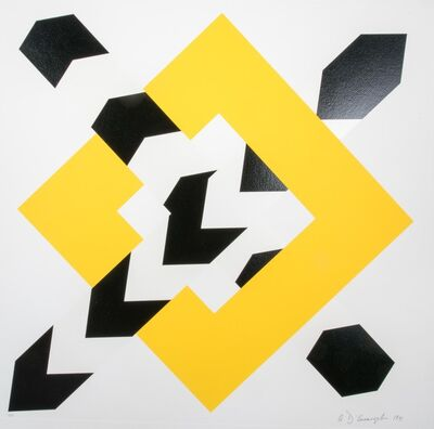 Allan D'Arcangelo, 'Constellation IV', 1972