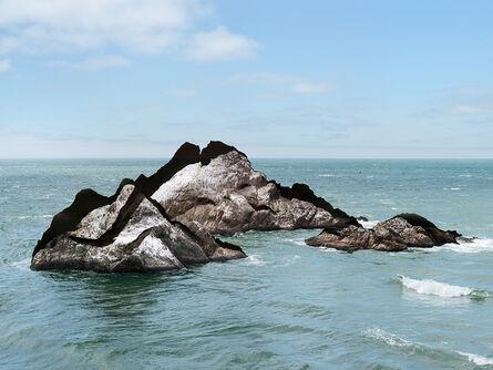 Laura Plageman, 'Response to Print of Seal Rocks, California,', 2014