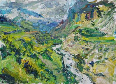 Ulrich Gleiter, 'Canyon Landscape', 2017