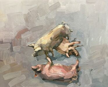 Topi Ruotsalainen, 'Throw a Pig', 2018