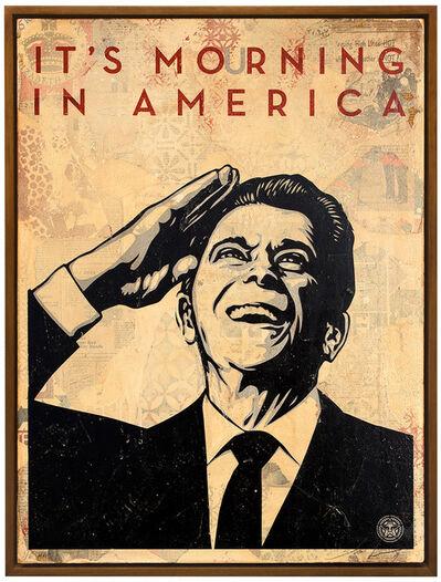 Shepard Fairey, 'It's Mourning in America', 2012