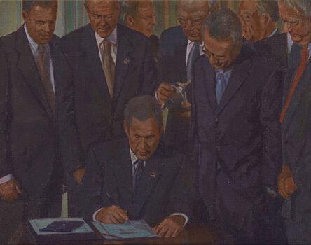 Miguel Aguirre, 'Washington D.C., 26 de octubre de 2001', 2016