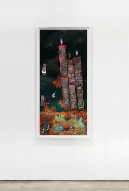 Richard Mosse, 'Santarem Log Barges', 2021