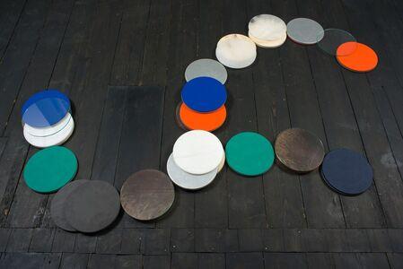 Francesco Cavaliere, 'Utaclion (coordinate per sculture gemelle)', 2013