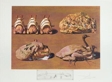 Salvador Dalí, 'Princely Plier Caprices', 1971