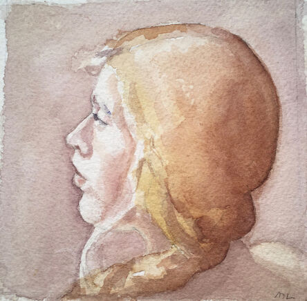 Mary Lawler, 'Profile Of A Model'