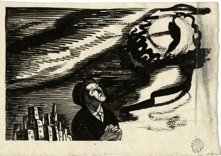 Rockwell Kent, 'George B. Smith (Study for N by E)', ca. 1929