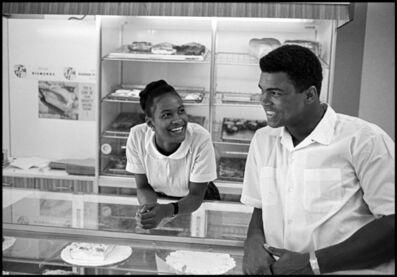 Thomas Hoepker, 'Muhammad Ali flirts with Belinda Boyd in a bakery shop. Belinda later became Ali's second wife as Khalilah Ali, Chicago', 1966