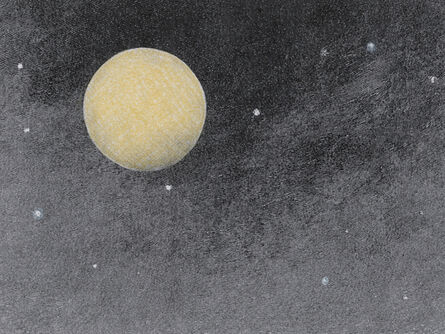 Stacey Steers, 'Edge of Alchemy Ed. 10 (yellow moon)'