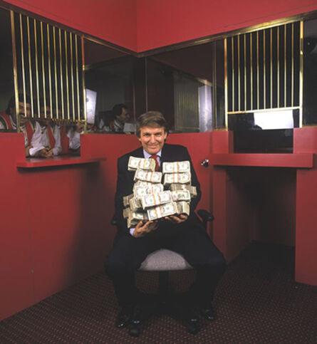 Harry Benson, 'Donald Trump, Atlantic City', 1990