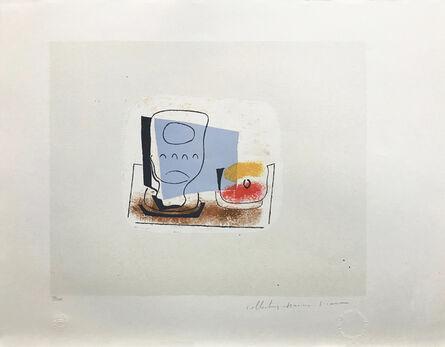 Pablo Picasso, 'NATURE MORTE AU VERRE', 1979-1982
