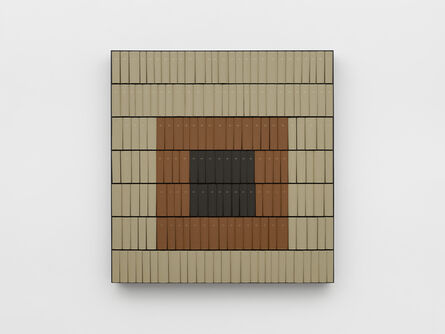 Theaster Gates, 'Black Square Study #1', 2020