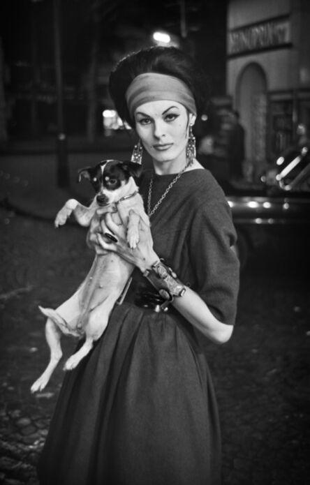 Christer Strömholm, '0081 Jacky with Adèle Chanel, Paris ', 1961