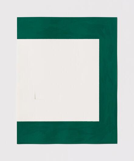 Stephen Antonakos, 'Untitled Cut, O#14', 1977