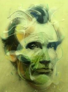 Jongwang Lee, 'Lincoln 1860', 2014