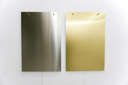Finnbogi Pétursson, 'Relatives Aluminium-Brass', 2019