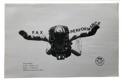 Paulo Bruscky, 'Fax Performance', 1985
