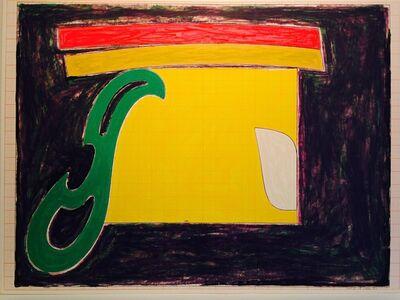 Frank Stella, 'Mysterious Bird of Ulieta', 1977