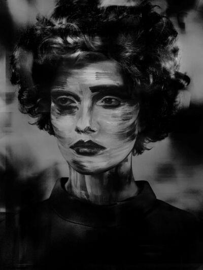 Valérie Belin, 'Lady_Stroke (Painted Ladies)', 2017