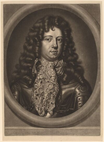 Abraham Blooteling, 'Hendrik Casimir II, Count of Nassau-Dietz'