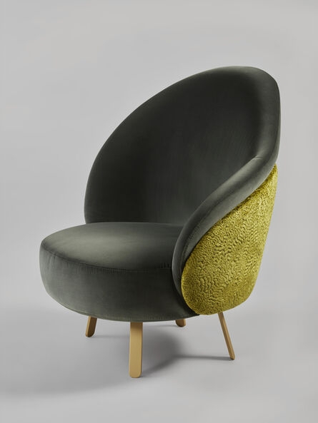 Charles Kalpakian, ''Crescent' Chair', 2019