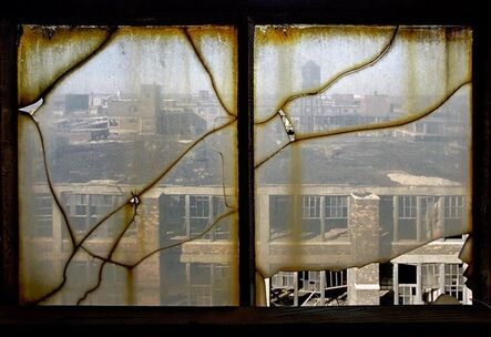 Yves Marchand & Romain Meffre, 'Window, Packard Motors Plant', 2005