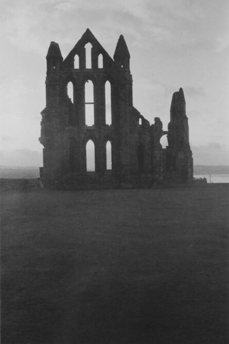 George Tice, 'Whitby Abby Yorkshire', 1990