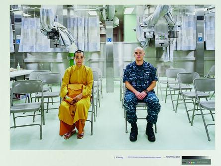 An-My Lê, 'Patient Admission, US Naval Hospital Ship Mercy, Vietnam', 2010