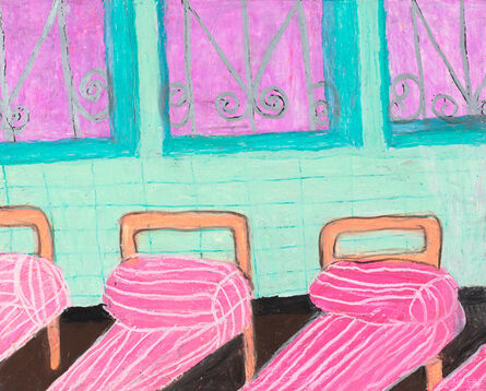 Camille Holvoet, 'Girls Dormitory When I First Went to The Hospital', 2015