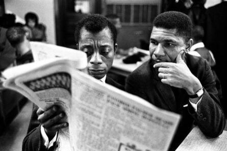 Steve Schapiro, 'James Baldwin and Medger Evers', 1963