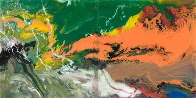 Gerhard Richter, 'P15 (Flow Series)', 2017