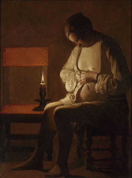 Georges de La Tour, 'The Flea Catcher', 1630s-1640s