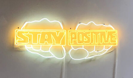 Derrick Adams, 'Stay Positive', 2018