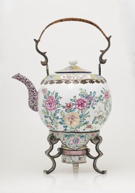 'Teapot and Stand', about 1800