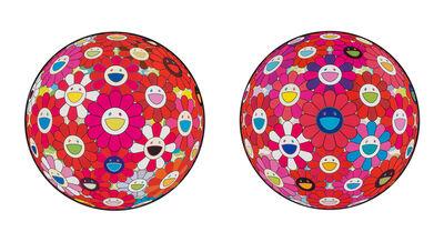 Takashi Murakami, 'Comprehending the 51st Dimension and Hey! Do You Feel What I Feel? (two works)', 2014