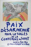 Pablo Picasso, 'Paix D'esarmement', 1960