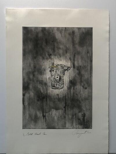 James Rosenquist, 'Gold Trash Can', 1977