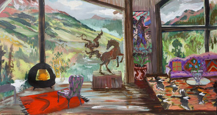 Johnny DeFeo, 'East River Valley Cabin (Just Off Gothic Road Above the Second Aspen Grove but Before 401 Trail- which is excellent this time of year by the way)', 2020
