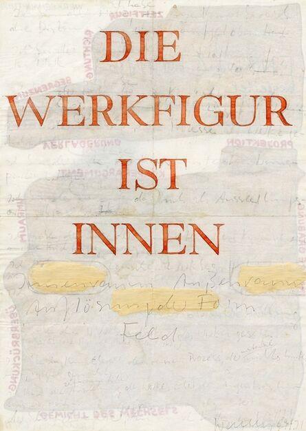 Franz Erhard Walther, 'Untitled (Die Werkfigur ist innen)', 1969