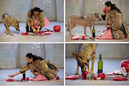 Pilar Albarracin, 'She-wolf', 2006